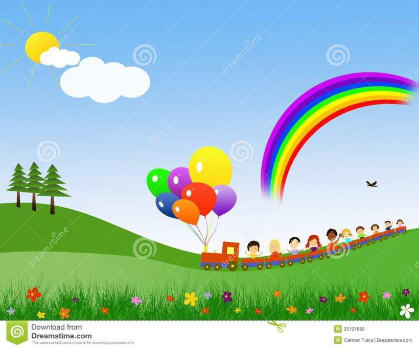 happy-children-train-25121693